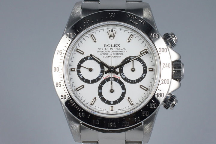 1995 Rolex Zenith Daytona 16520 White Dial photo