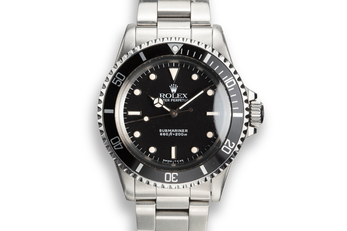 1986 Rolex Submariner 5513 Glossy Dial photo, #0