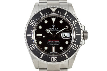 2017 Rolex Sea-Dweller 126600 with Box and Papers photo