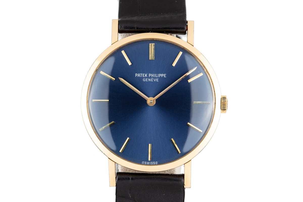 1972 18K YG Patek Philippe Calatrava 3537 with Extract from the Archives Papers photo, #0