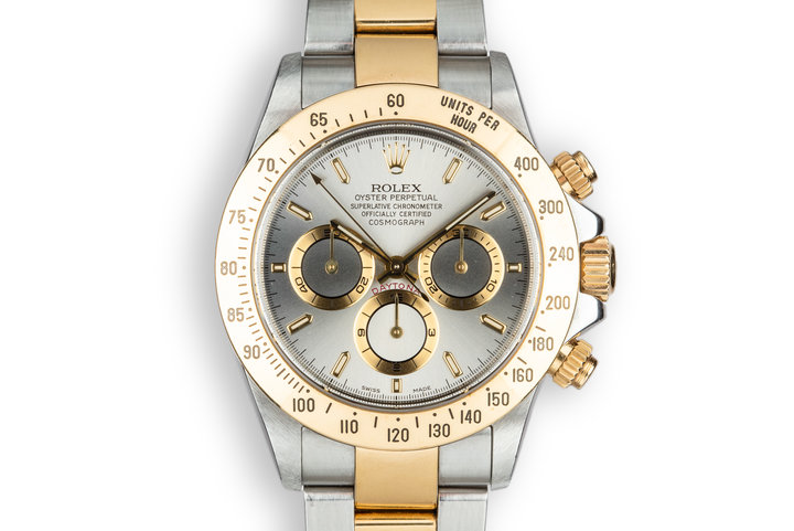 1999 Rolex Two-Tone Daytona 16523 Grey Dial with Box photo