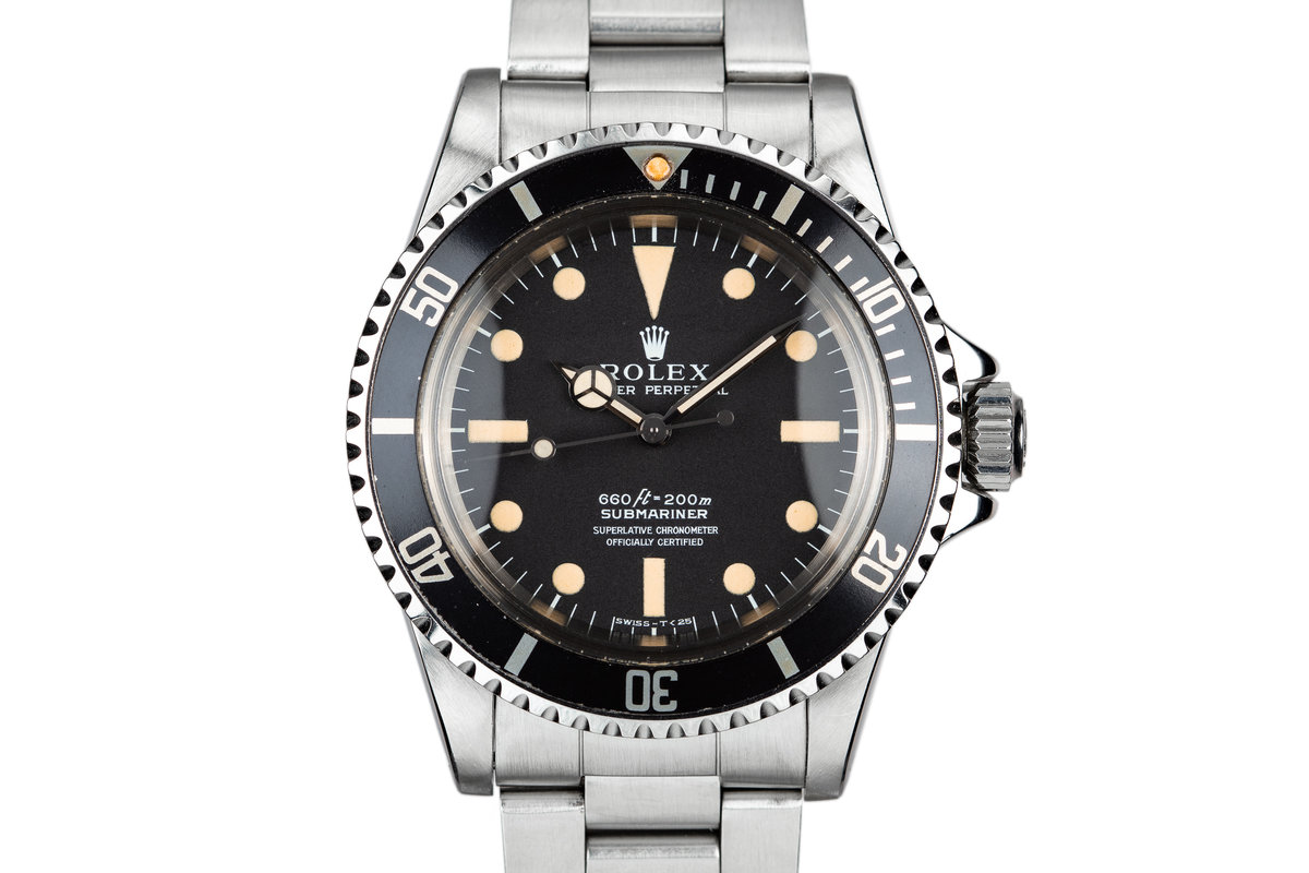 1975 Rolex Submariner 5512 with Serif Dial photo, #0