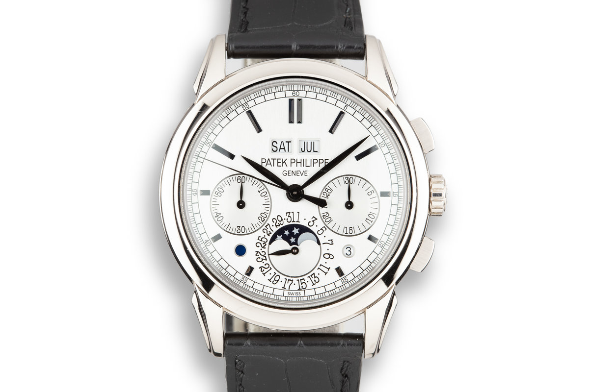 2013 Patek Philippe 18K White Gold Grand Complications 5270G Silver Dial with Box and Papers photo, #0