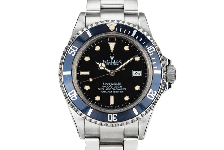 1985 Rolex Sea-Dweller 16660 photo