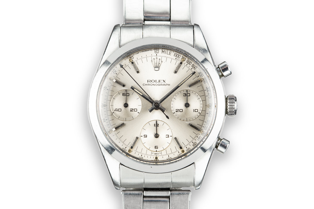 1964 Rolex Pre-Daytona 6238 Silver Dial photo, #0