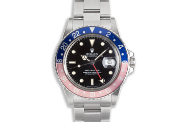 "1986 Vintage Rolex GMT-Master 16750 ""Pepsi"" Dial photo"