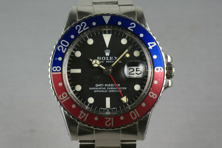 Rolex GMT Ref: 1675 photo