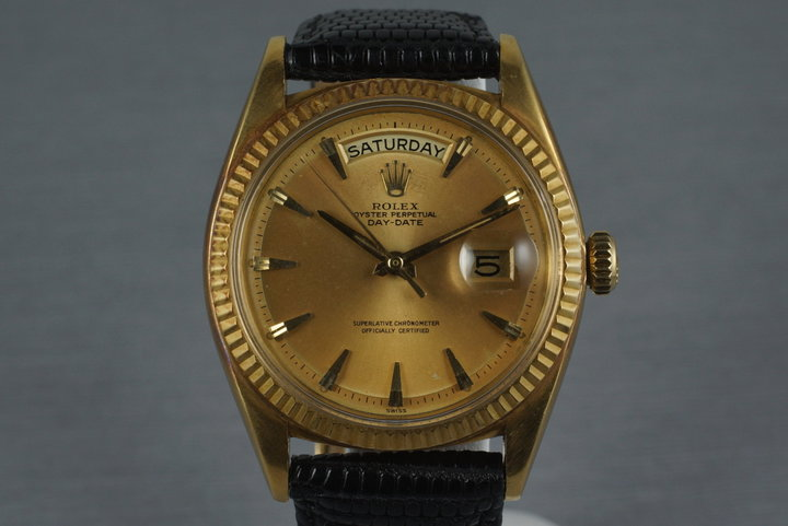 1962 Rolex YG Day-Date 1803 with Swiss Only Claw Dial photo