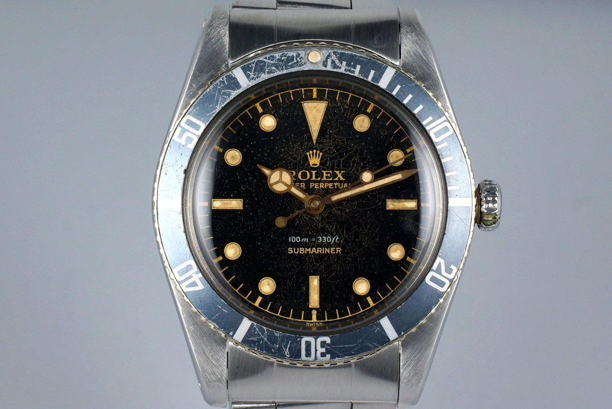 1958 Rolex Submariner 5508 Exclamation Dial photo, #0