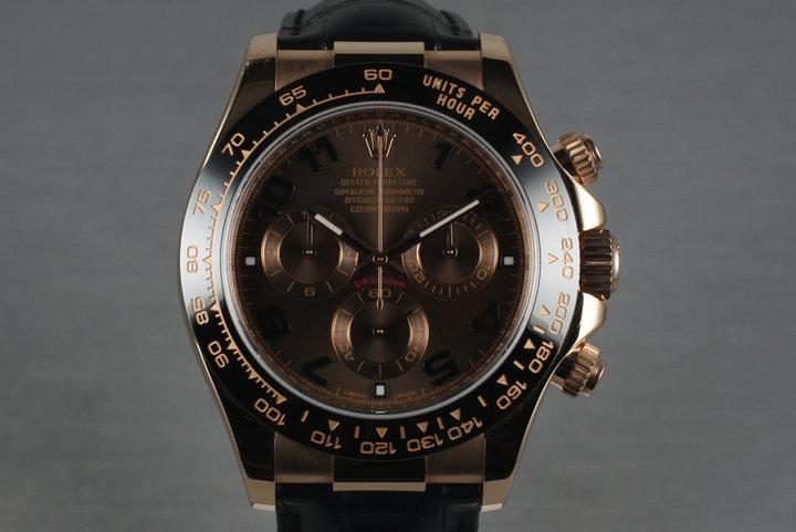 2013 Rolex Rose Gold Daytona 116515LN photo