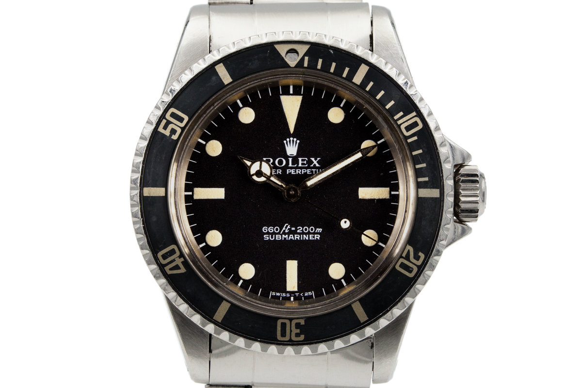 1972 Rolex Submariner 5513 with 'Non-Serif' Dial photo, #0