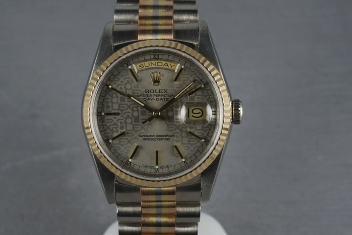 1989 Rolex Day Date President 18389B TRIDOR photo