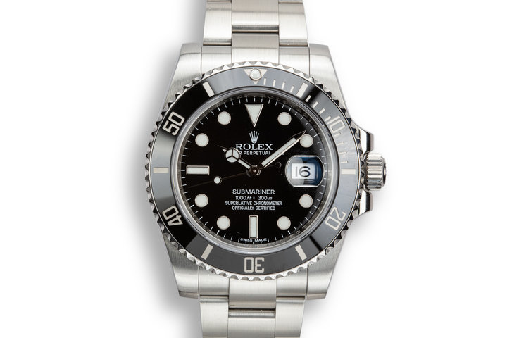2011 Rolex Ceramic Submariner 116610 with Box and Papers photo