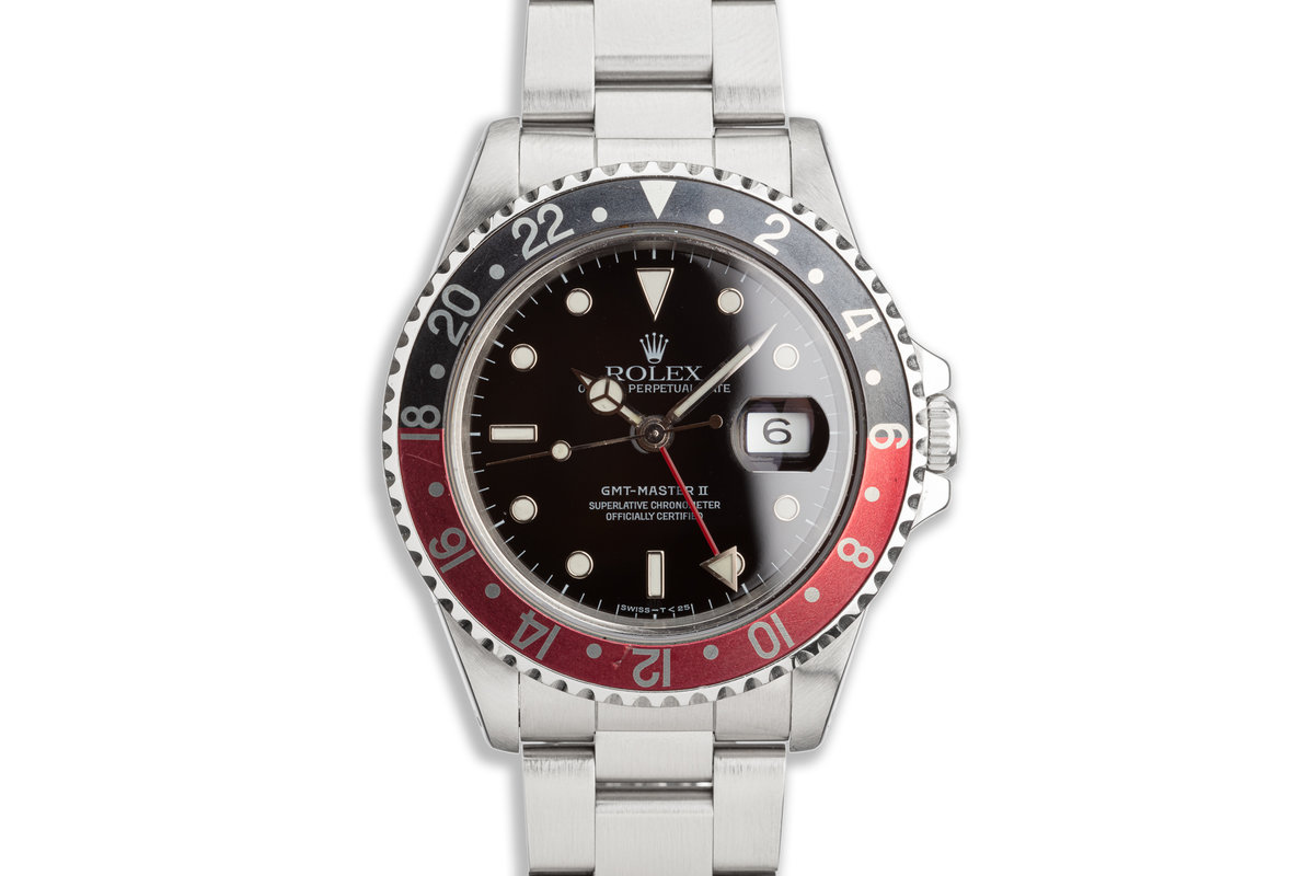 "1991 Rolex GMT-Master II 16710 ""Coke"" Bezel photo, #0"