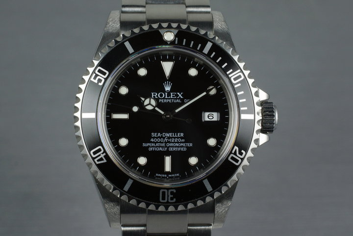 2003 Rolex Sea Dweller 16600 photo
