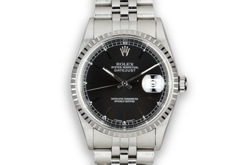1997 Rolex DateJust 16220 Black Dial photo