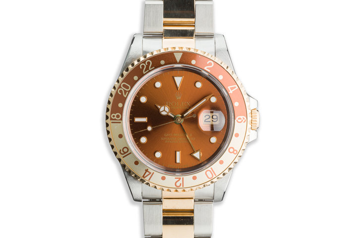 "1993 Rolex Two-Tone GMT-Master II 16713 ""Rootbeer"" photo"