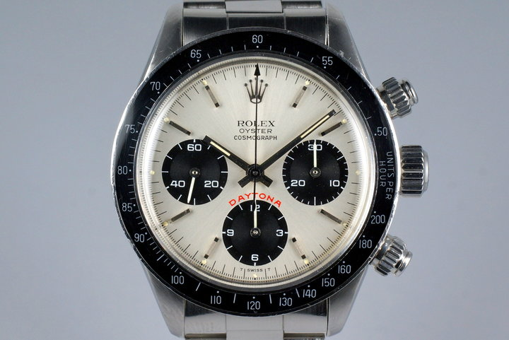 1982 Rolex Daytona 6263 Silver Big Red Daytona Dial photo