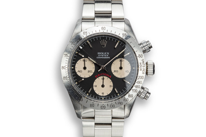 "1985 Rolex Daytona 6265 ""Big Red"" Black Dial photo"