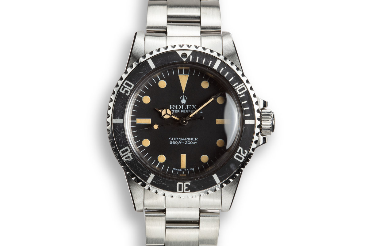 1984 Rolex Submariner 5513 with Mark V Maxi Dial photo, #0