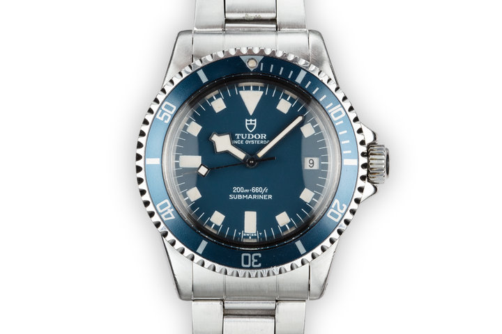 1973 Tudor Snowflake Submariner 7411/0 Blue Dial photo