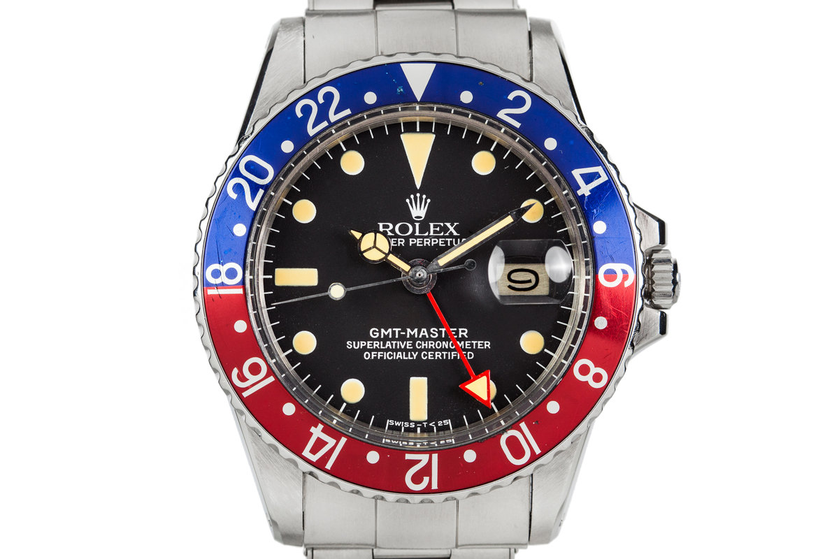 1972 Rolex GMT-Master 1675 All Red GMT Hand photo, #0