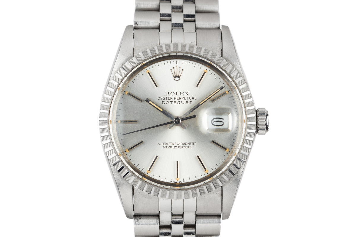 1986 Rolex DateJust 16030 Silver Dial photo, #0