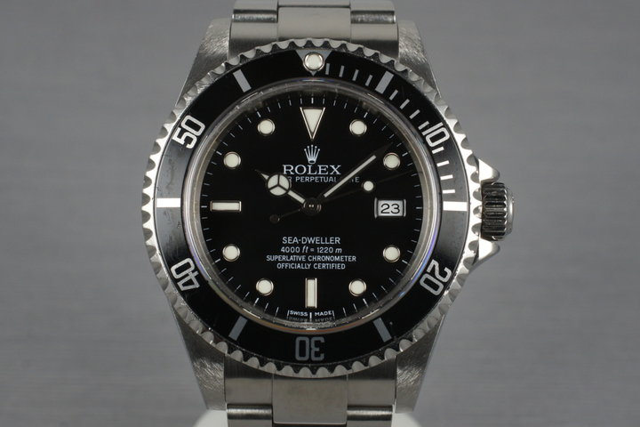 2004 Rolex Sea Dweller 16600T with Box and Papers photo