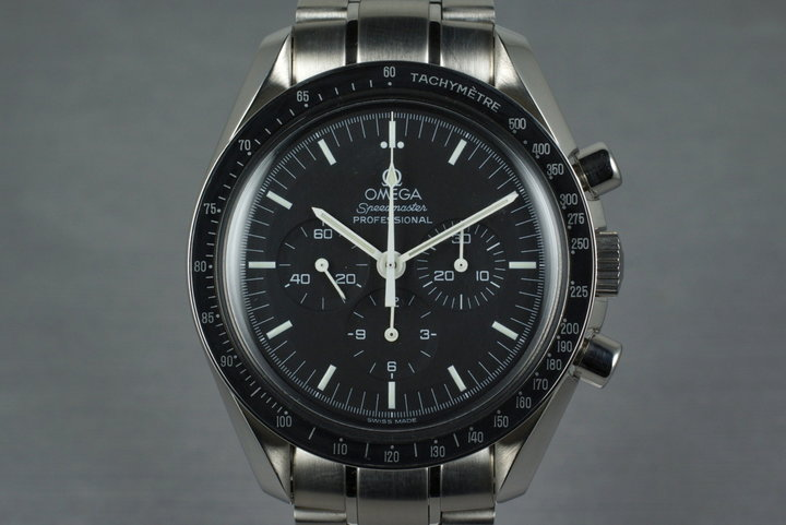 1999 Omega Speedmaster 3572.50 with Box and Papers photo