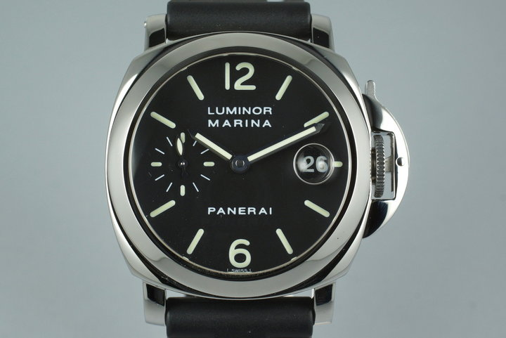 1999 Panerai PAM 48 Luminor Marina with Box photo