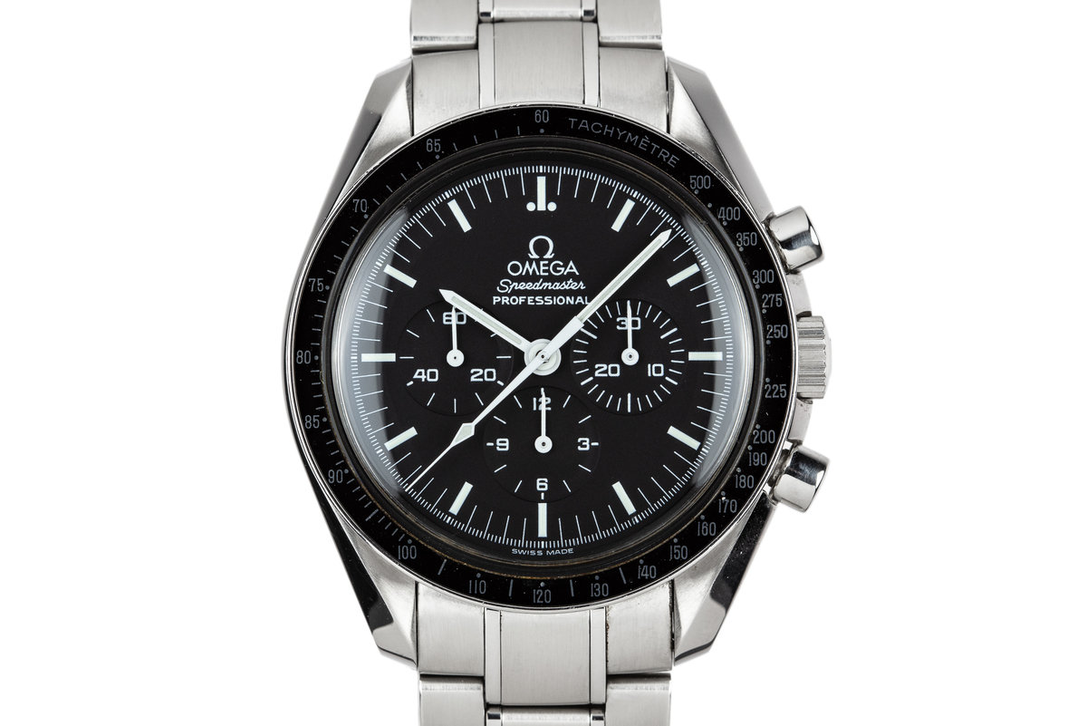 2003 Omega Speedmaster Professional 3570.50.00 with Card photo, #0