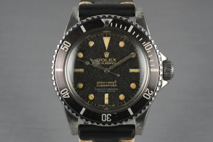 1965 Rolex Submariner 5512 Gilt 4 Line Dial photo