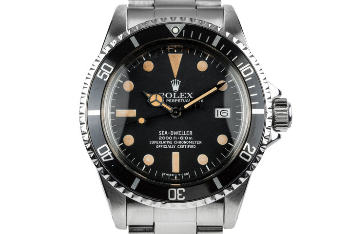 1978 Rolex Sea-Dweller 1665 with Service Papers photo