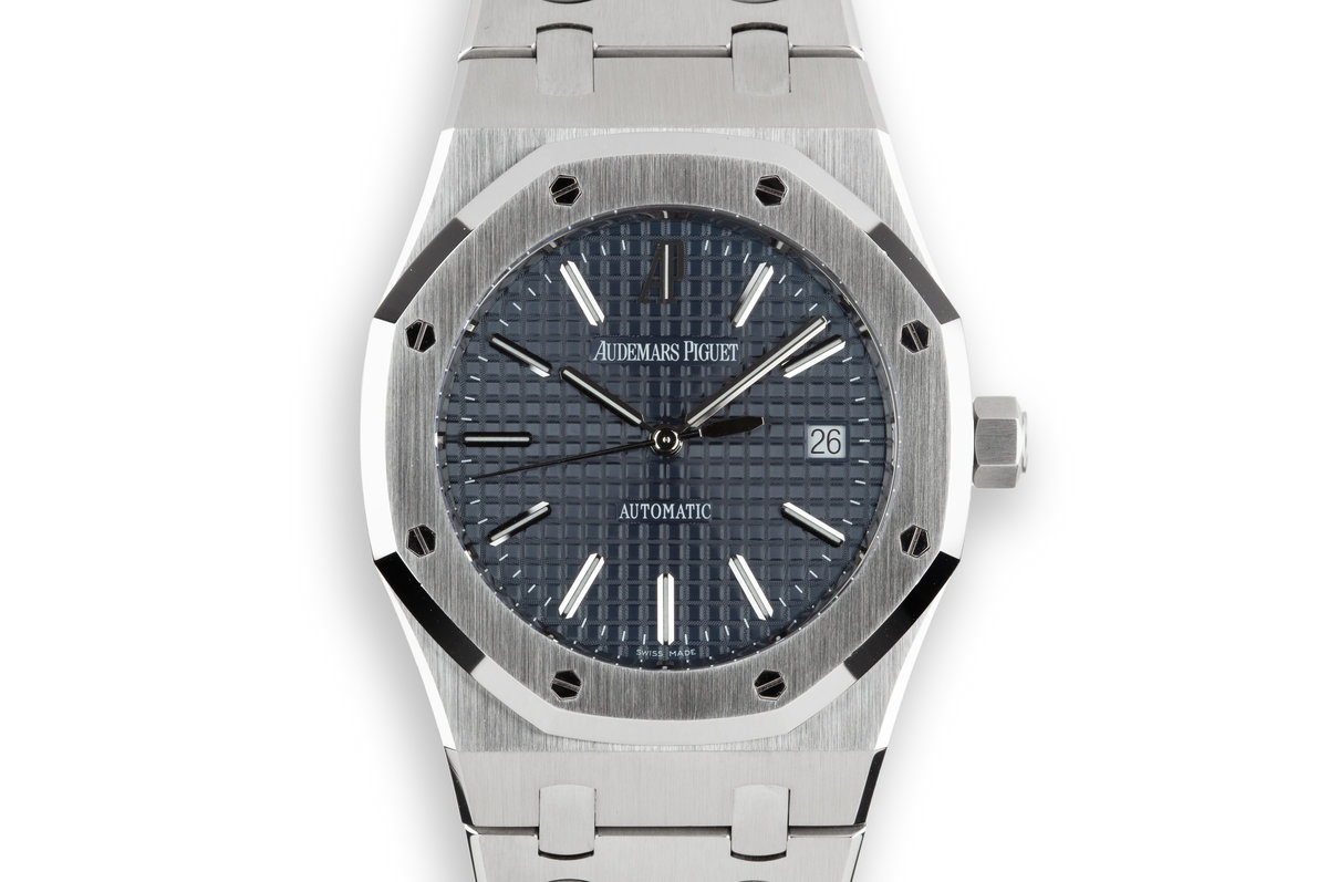 2012 Audemars Piguet Royal Oak 15300ST with Box and Papers photo, #0