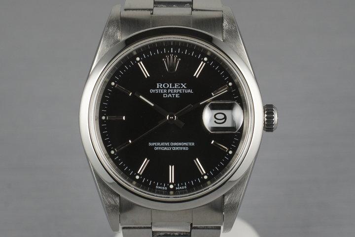 2001 Rolex Date 15200 photo