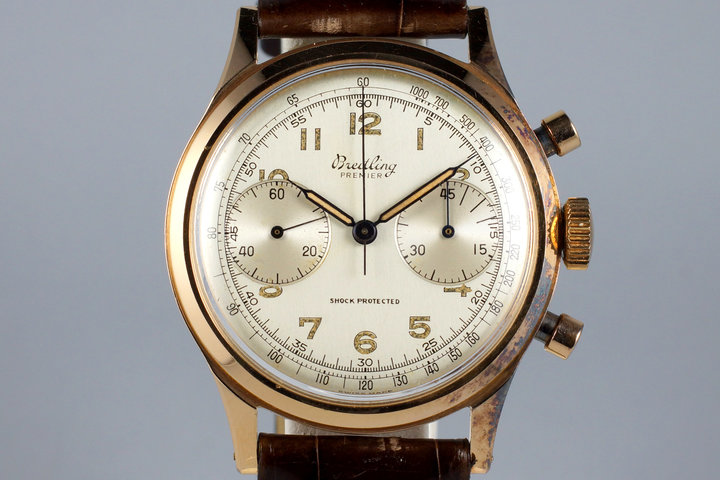 Late 1940's Breitling RG 2-Register Chronograph 777 photo