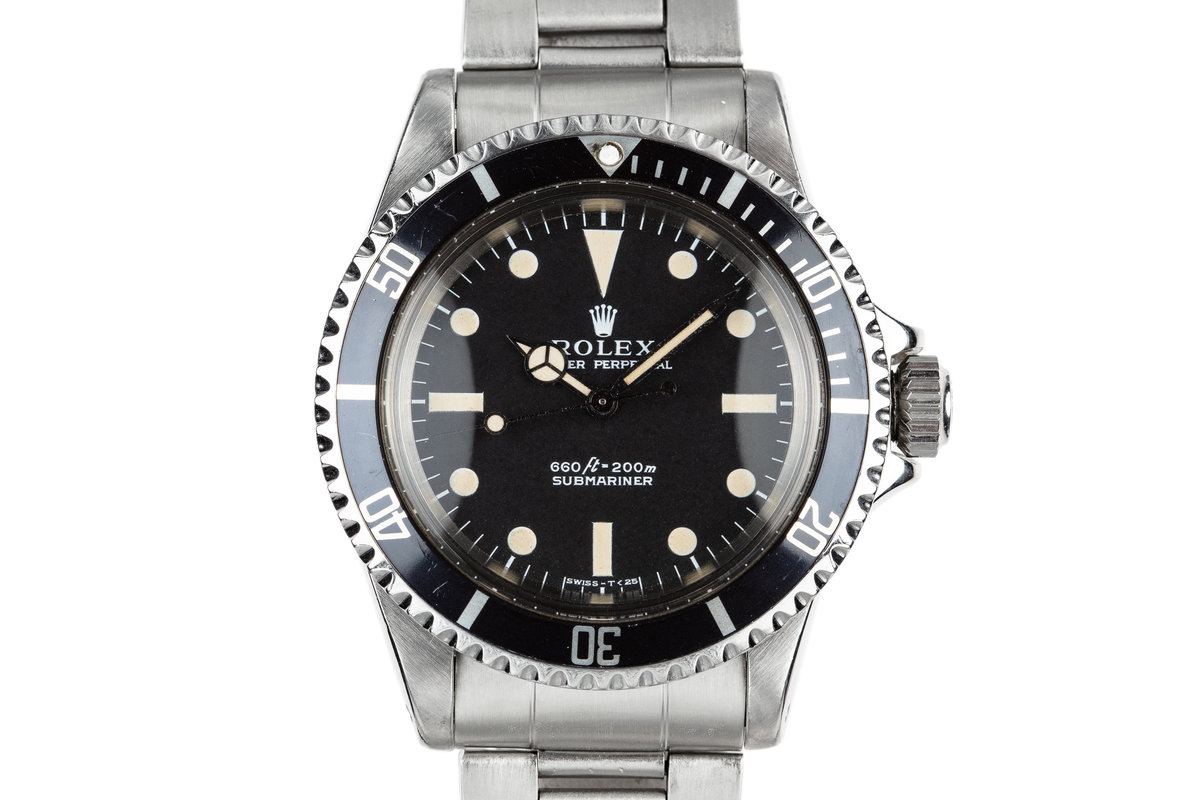 1971 Rolex Submariner 5513 Serif Dial photo, #0