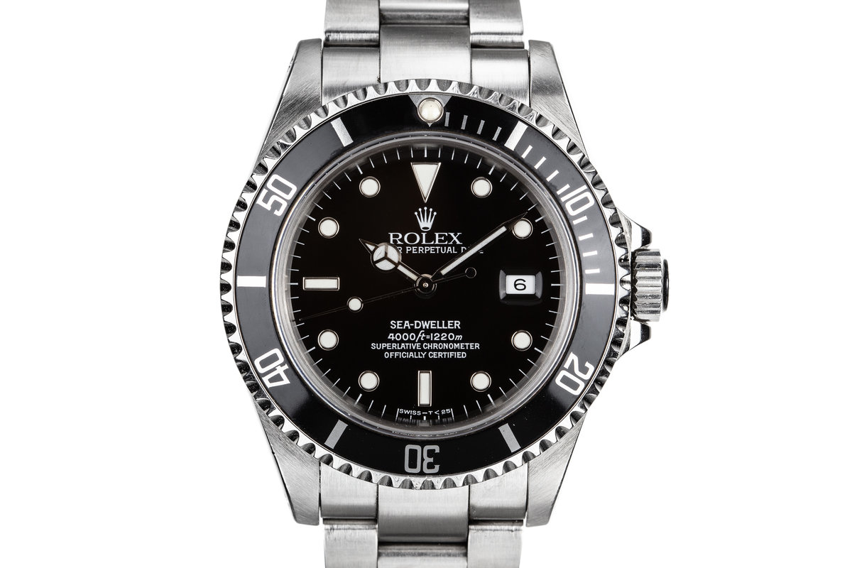 1993 Rolex Sea-Dweller 16600 photo, #0