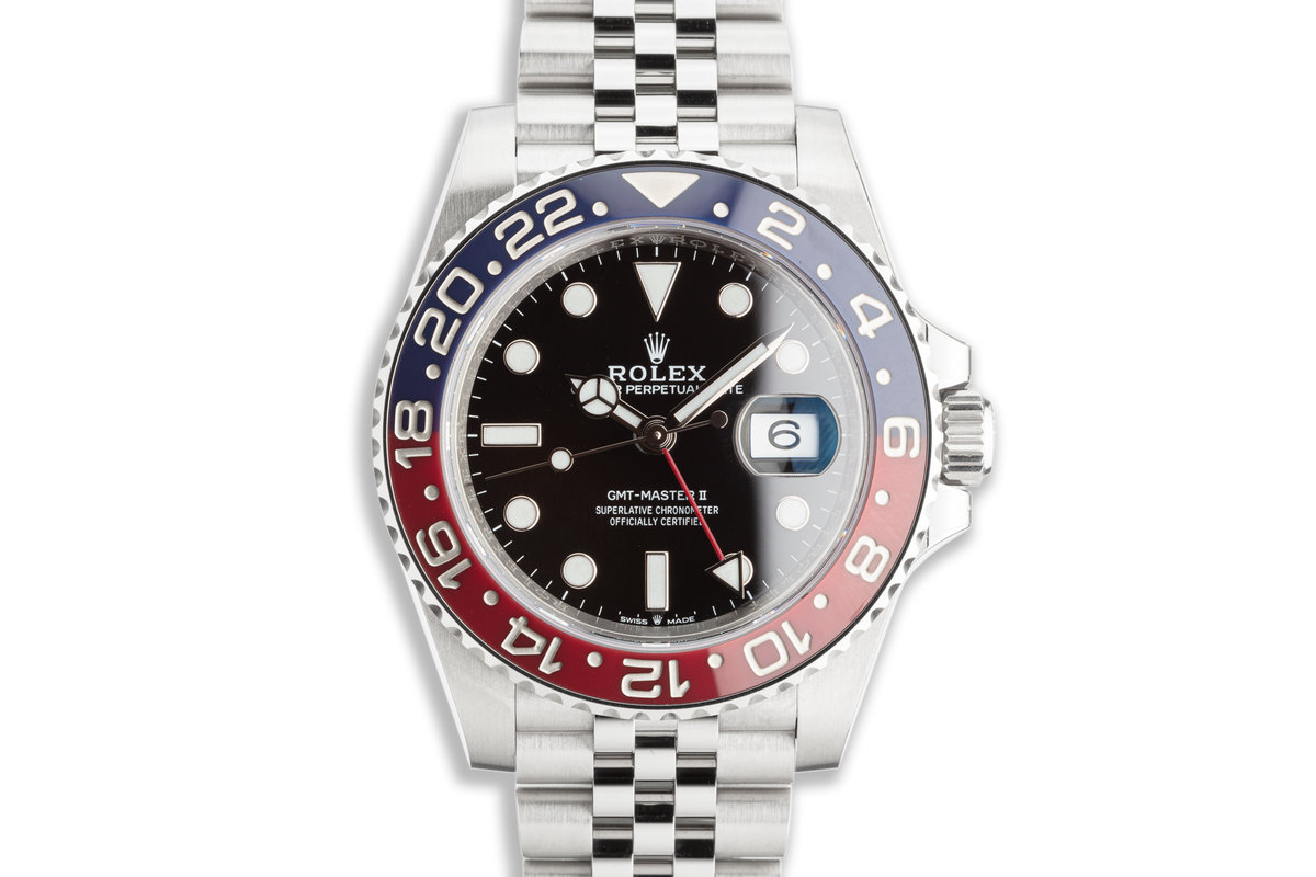 2019 Rolex GMT-Master II 126710BLRO with Box & Card photo, #0