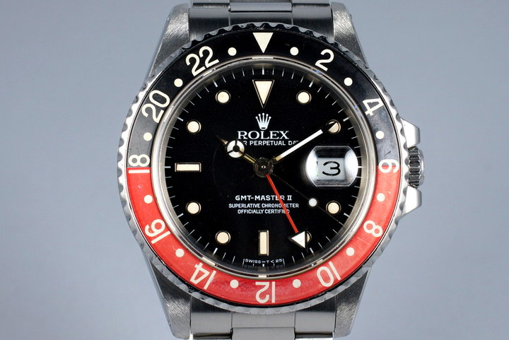 1988 Rolex Fat Lady GMT 16760 with Box and Papers photo