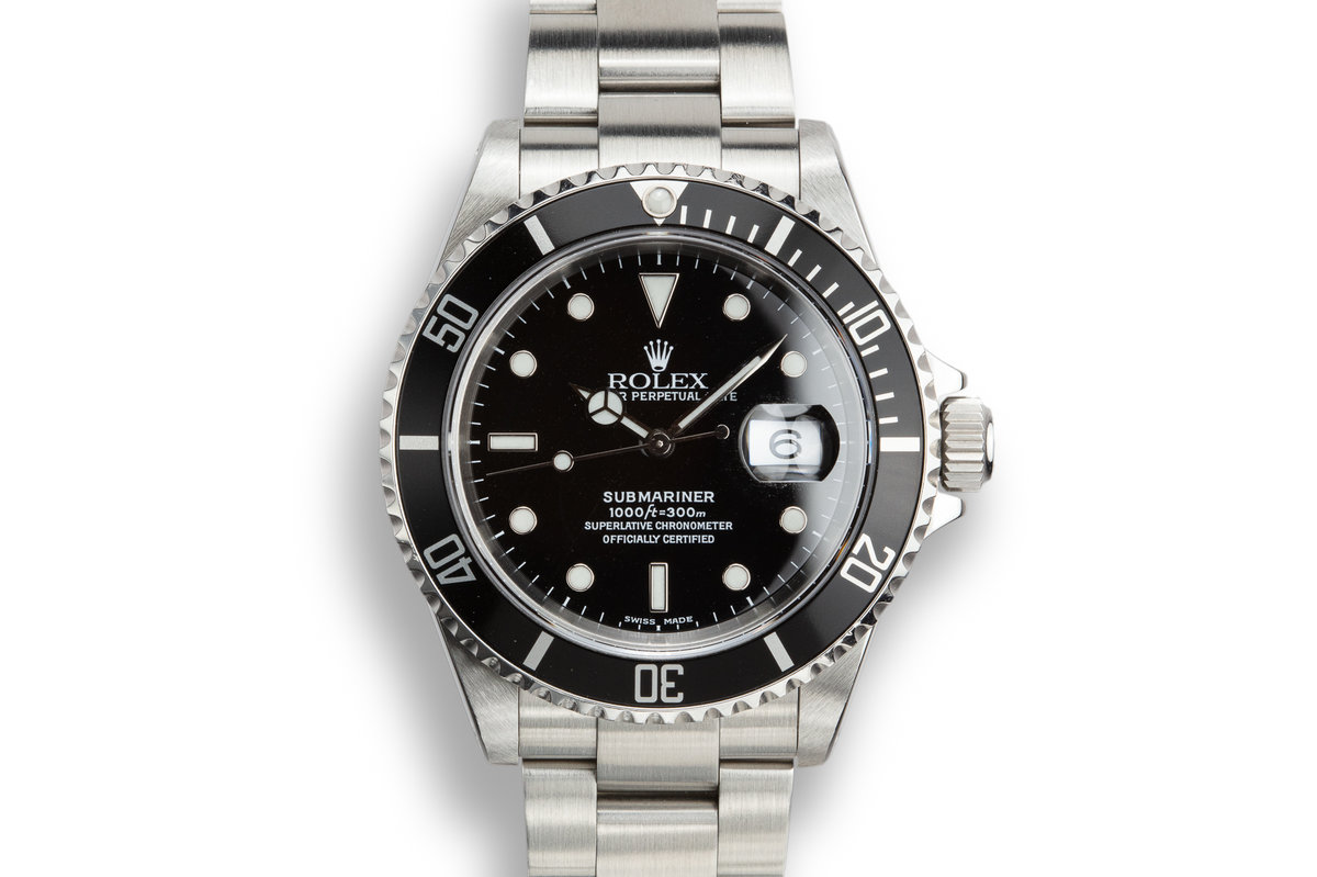 2000 Rolex Submariner 16610 photo, #0