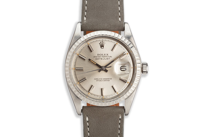 1965 Vintage Rolex DateJust 1603 Silver Dial photo