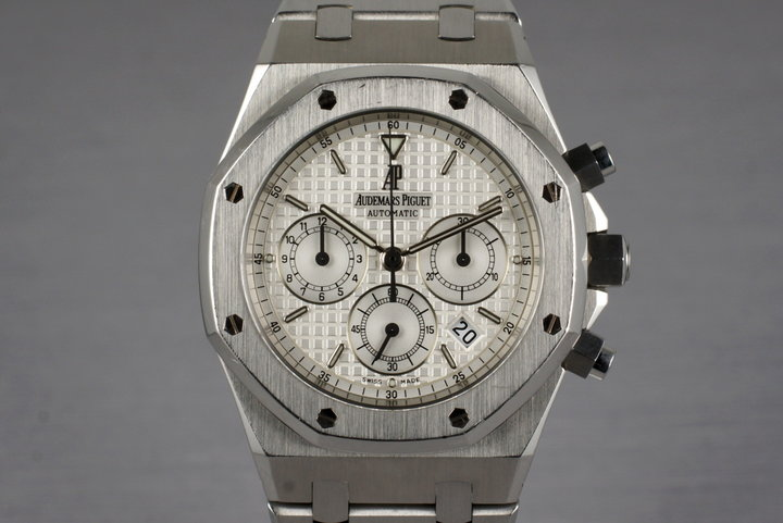2007 Audemars Piguet Royal Oak 25860ST with Box and Papers photo