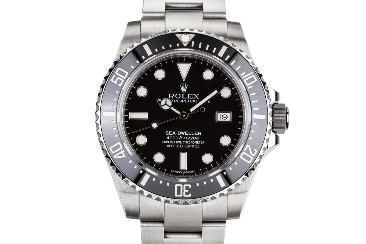 2015 Rolex Sea-Dweller 116600 with Box and Papers photo, #0