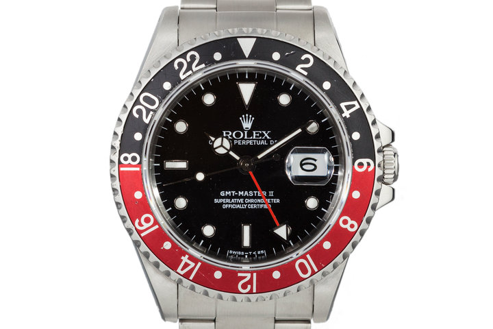 1990 Rolex GMT II 16710 with Coke Insert photo