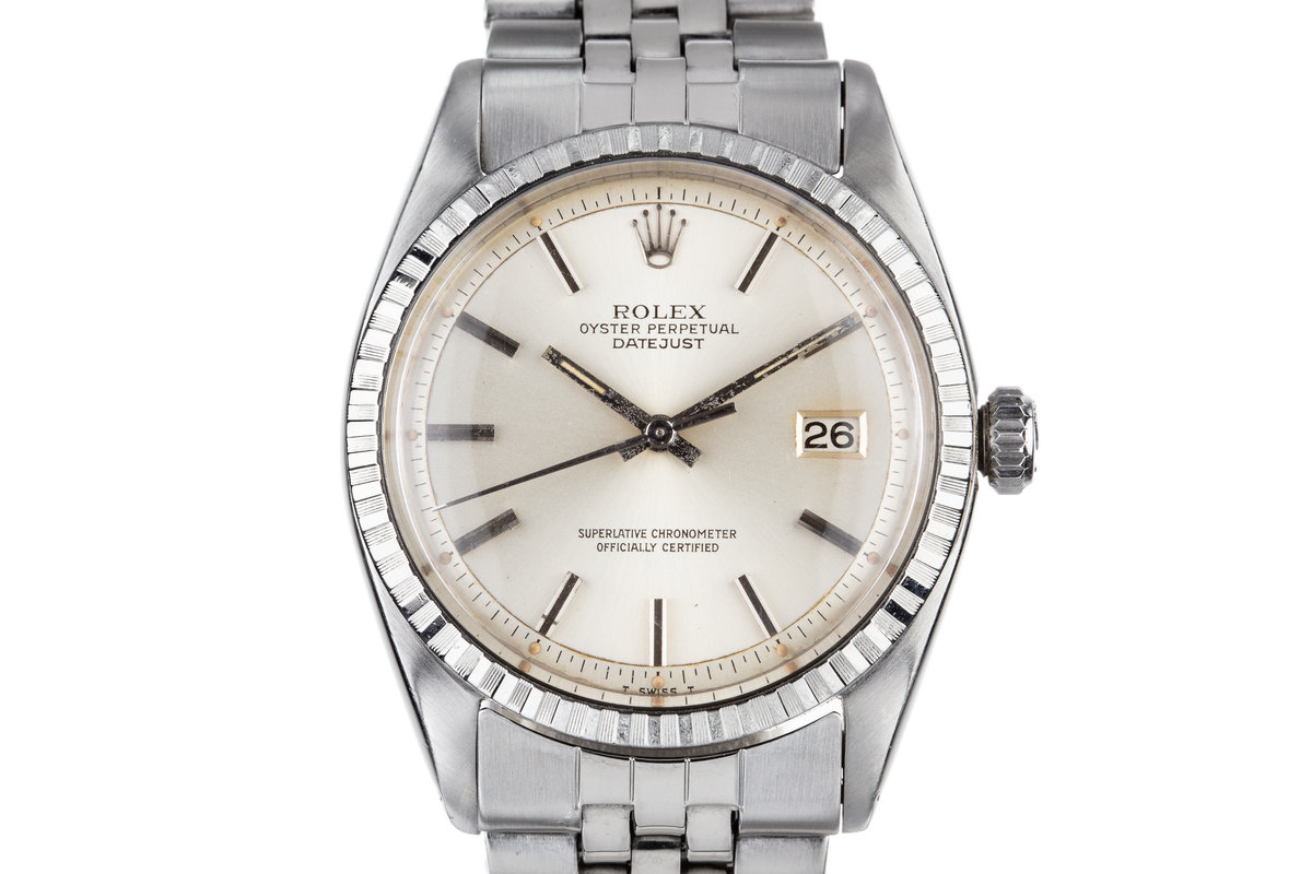 1961Rolex DateJust 1603 Silver Dial photo, #0