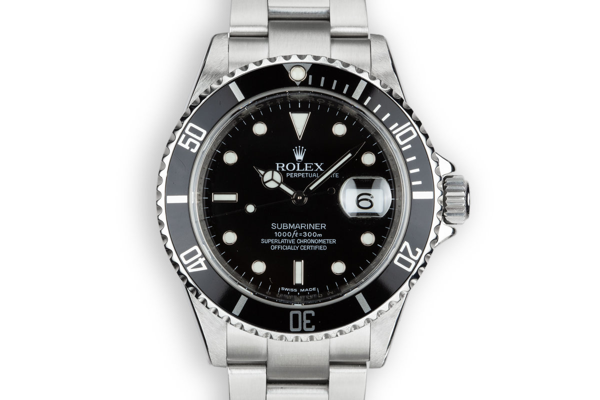 2007 Rolex Submariner 16610T photo, #0