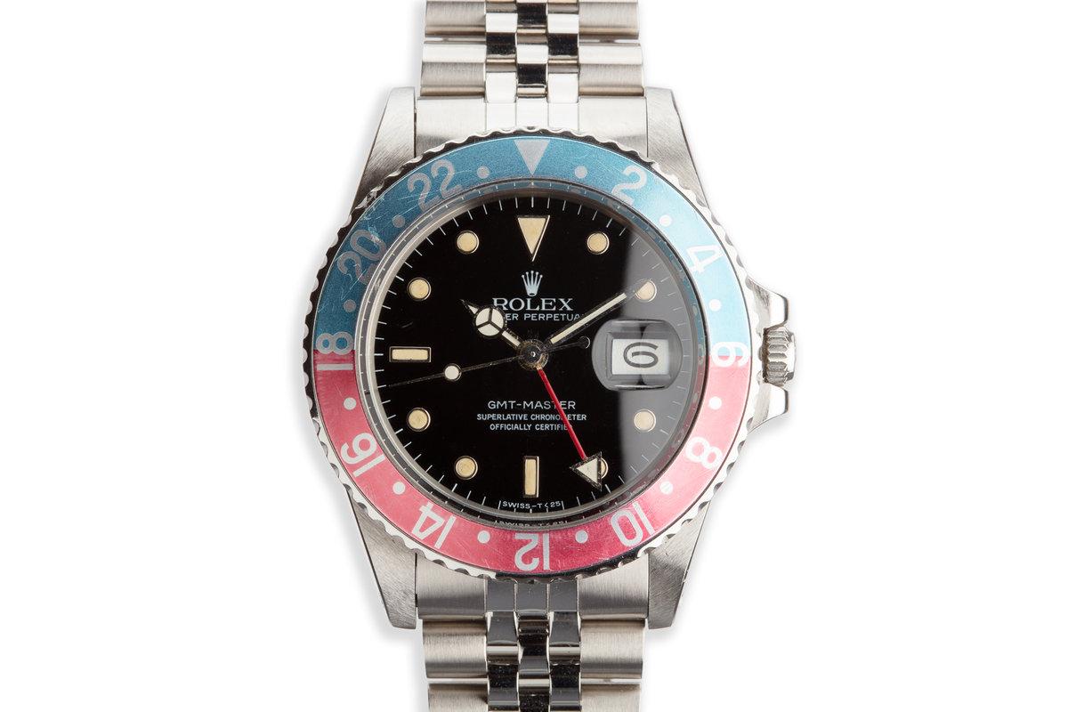 "1985 Vintage Rolex GMT-Master 16750 ""Pepsi"" photo, #0"