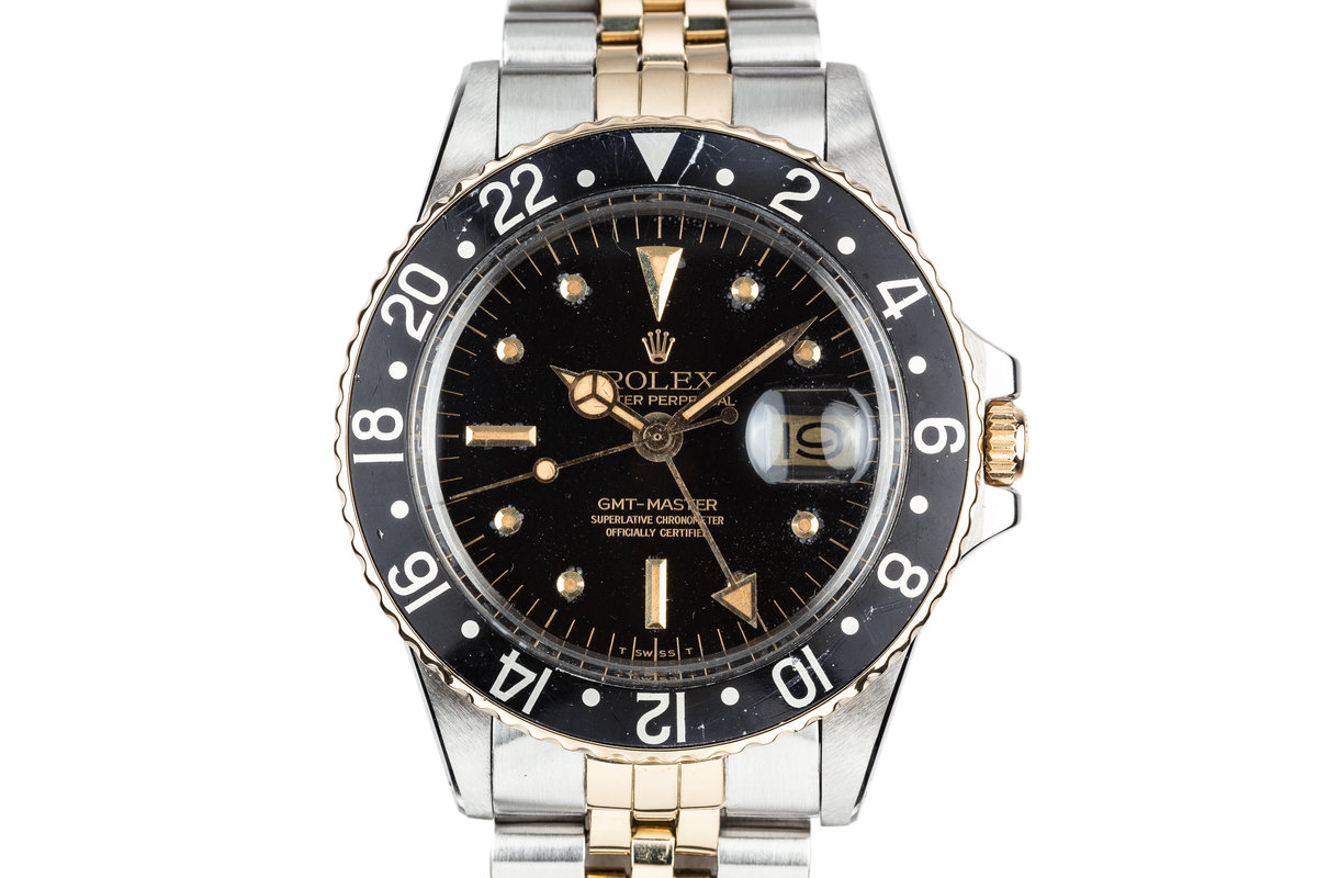 1978 Rolex Two Tone GMT-Master 1675 with Black Nipple Dial photo, #0