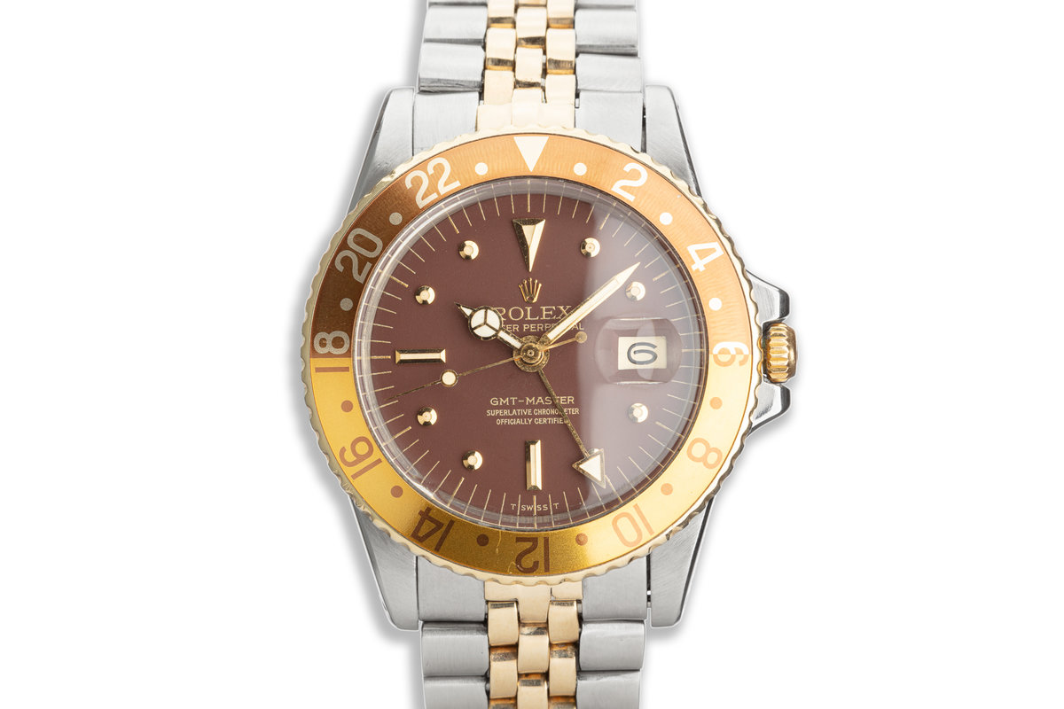 1973 Vintage Rolex GMT-Master 1675 with Brown Nipple Dial photo, #0